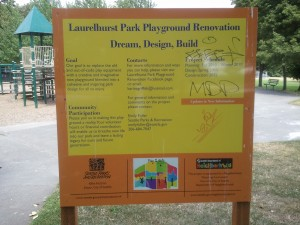 Laurelhurst Park Renovation
